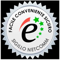 Immagine del Sigillo Netcomm - sito autorizzato siQuri.com